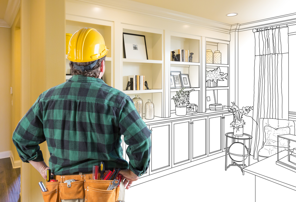 Contractor bringing your plans to life